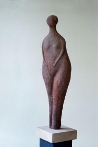 Kleine Frau Terracotta H: 30 cm • 2001