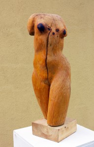 Torso Holz H:  1,00 m • 2005
