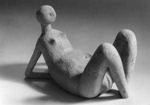 Pubertät Terracotta H: 30 cm • 1995