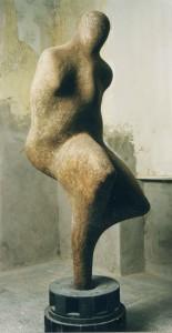 Torso, amorph Papiermaché H: 1,90 m • 1999