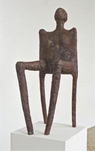 Kultisches Objekt Papiermaché H: 1,10 m • 1997